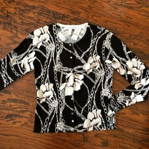 WHBM Rosewater Cardigan Top - New with Tags!